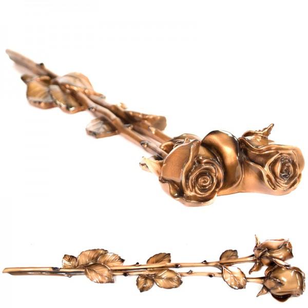 Роза 001 58х13см, бронза в Орше, Горках, Сенно, Лепеле и Могилеве